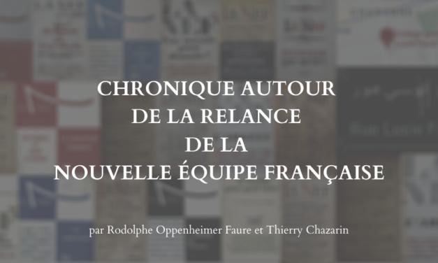 Chronique autour de la relance de la Nouvelle Équipe Française